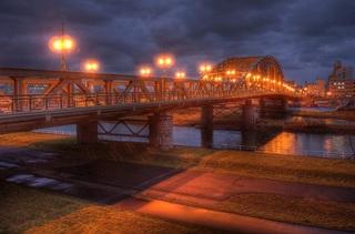Asahibashi-Bridge, Asahikawa, Hokkaido on NOV 23, 2013 (P7700) (11).jpg